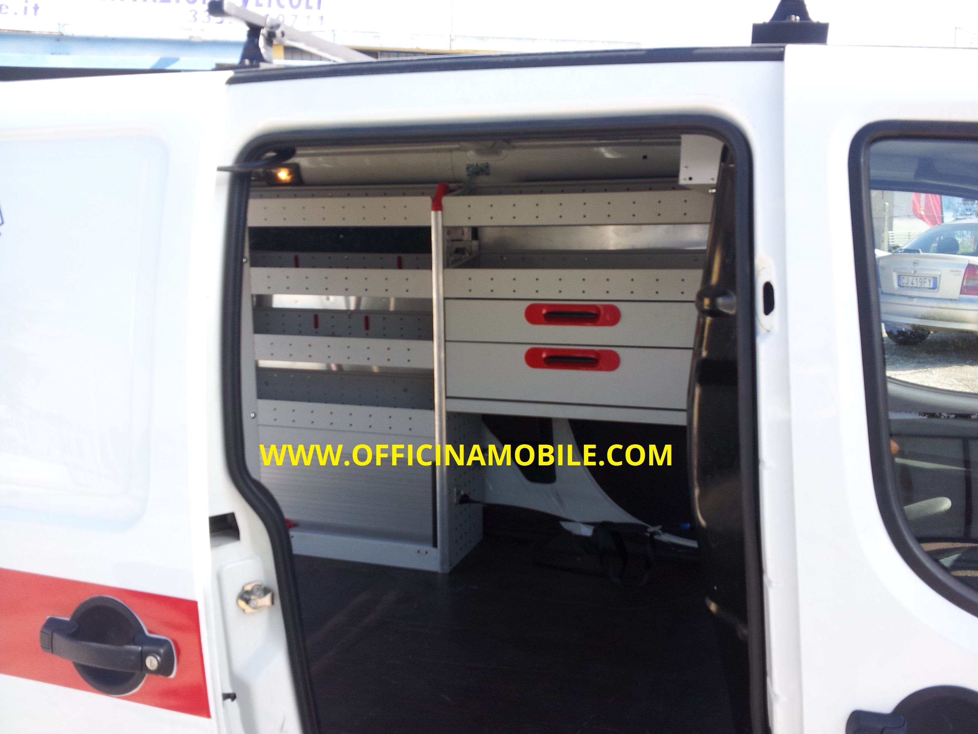 Officina mobile opel combo