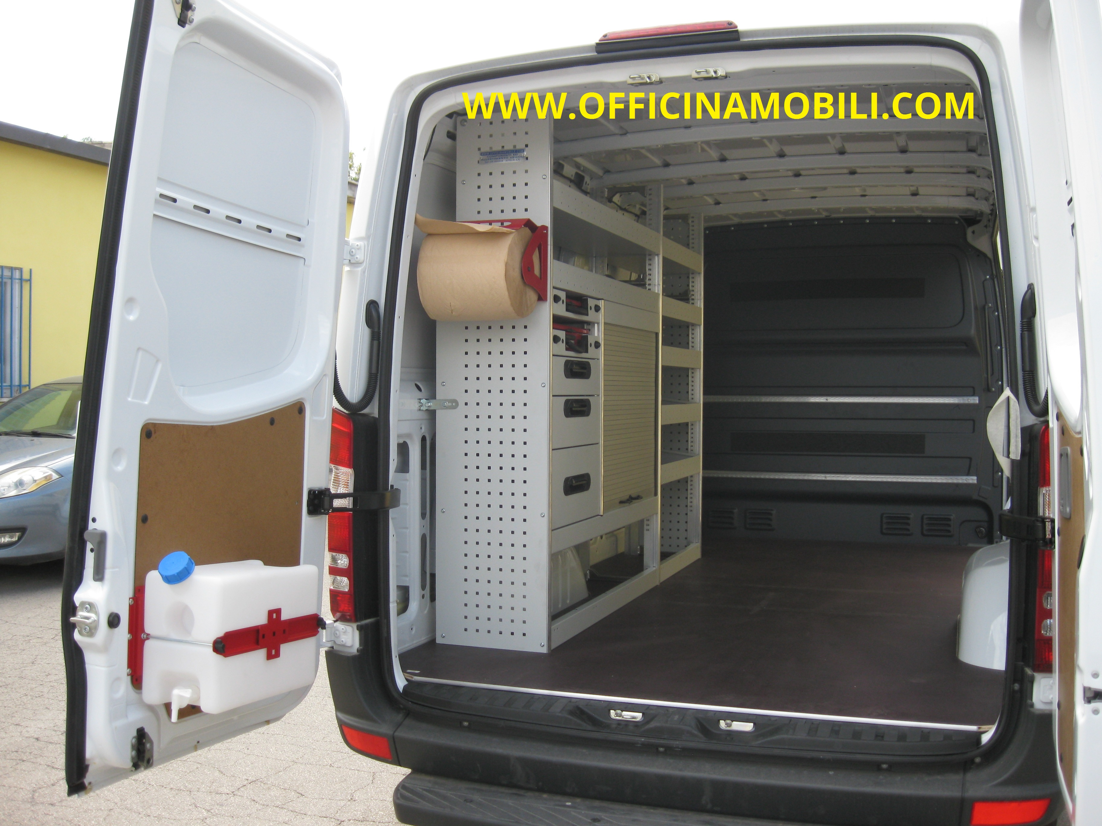 Officina mobile volkswagen crafter