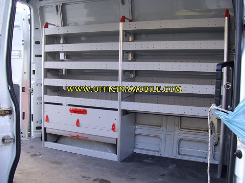 Officina mobile iveco daily