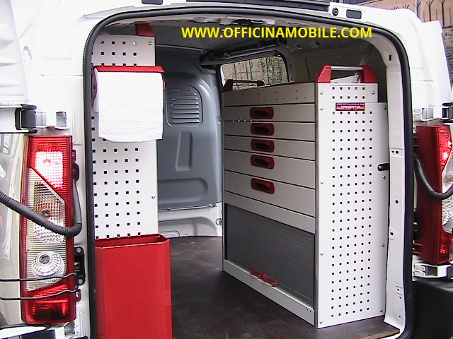 Officina mobile citroen jumpy