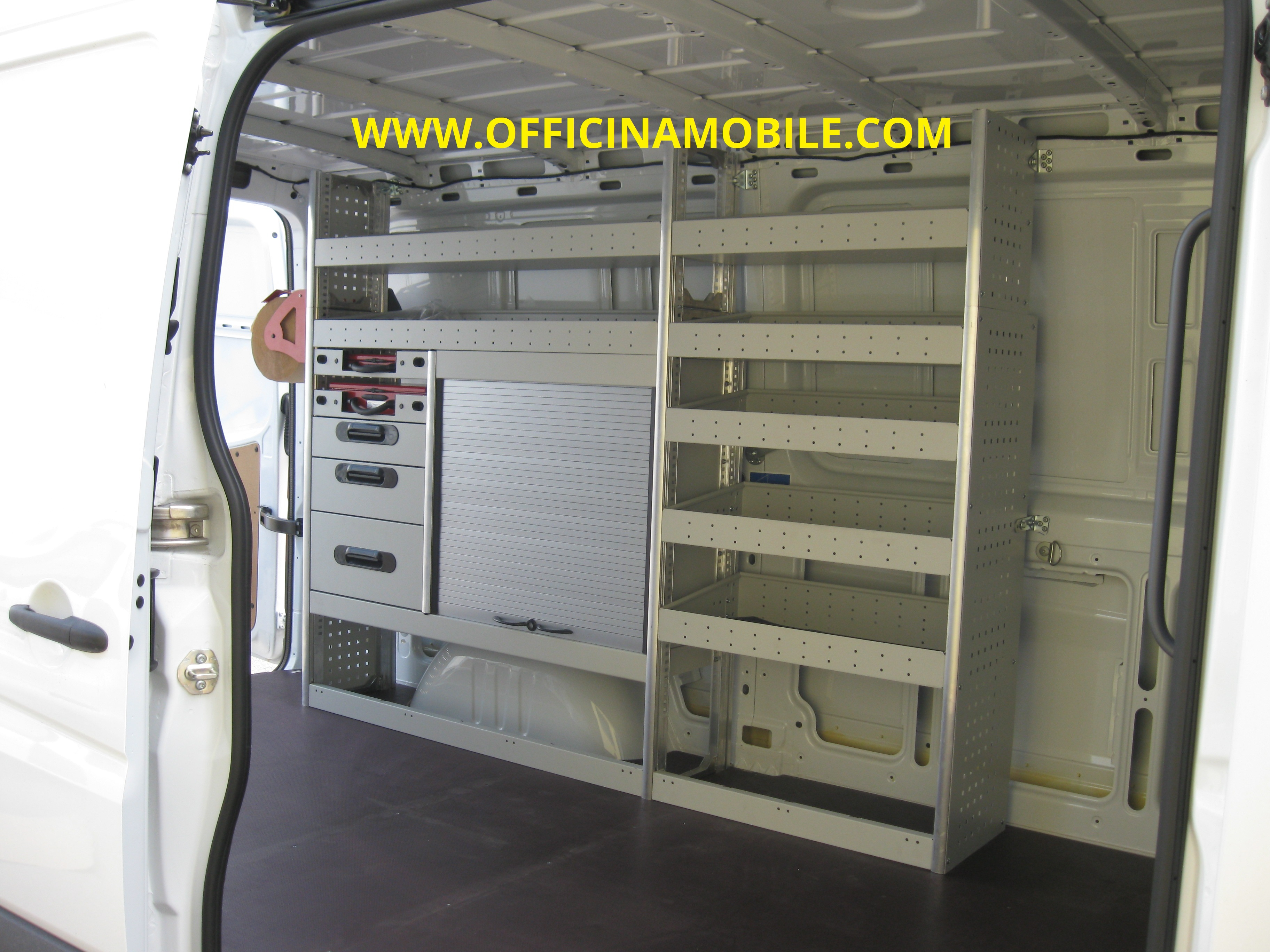 Officina mobile mercedes sprinter