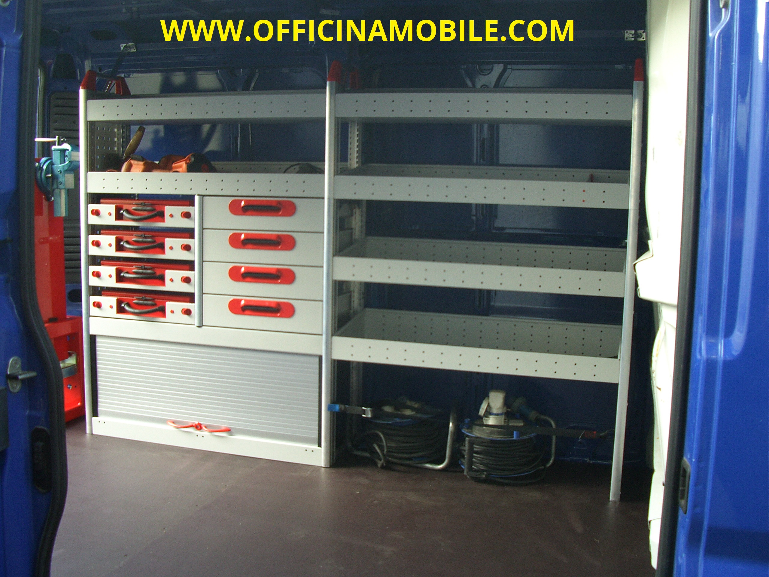 Officina mobile citroen jumper
